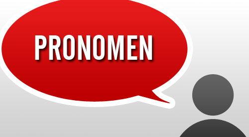 Pronomen in der polnischen Sprache