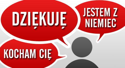 Polnische Wörter, Sätze, Fragen und Redewendungen