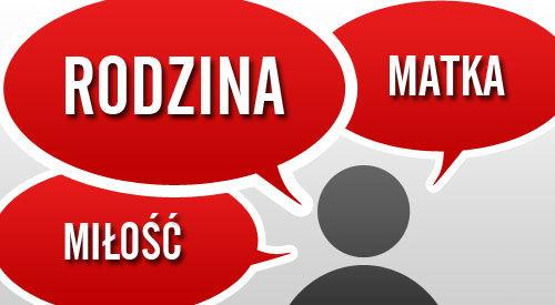 Familie, Liebe & Freundschaft auf Polnisch